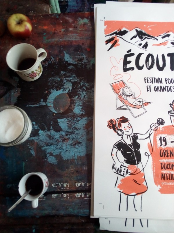 serigraphie_affiches_Ecoute(s)_atelierfluo